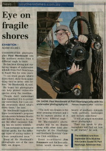 Eye on Fragile Shores I southerntimes.com.au